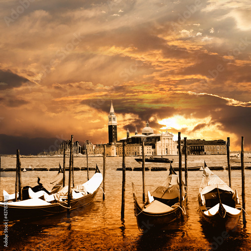 sunset in Venice - 43787372