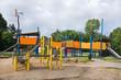 Playground for children in public park