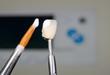 applying ceramic material, dental crown, furnace display