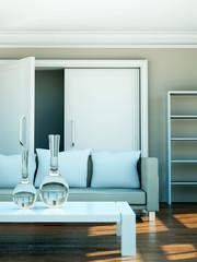 Wohndesign - Wohnung beige