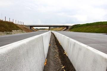 autobahn baustelle mittelstreifen I