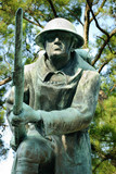 World War I Memorial at Veterans Plaza in Overton Park, Memphis,