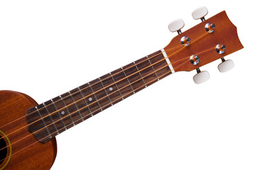 ukulele isolated on white background