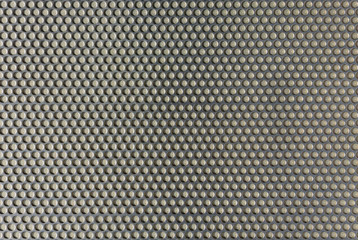 Gray  punched aluminum  plate