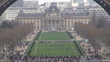 Timelapse of Central École Militaire building, Paris
