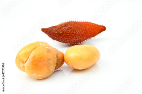 Close up of Zalacca or Salak fruit