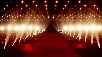 Red Carpet festival scene animation 21