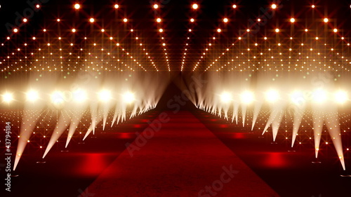 Red Carpet festival scene animation 21