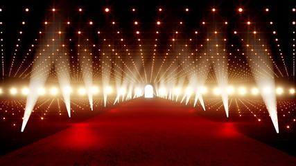 Red Carpet festival scene animation 18