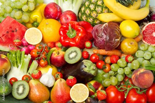 Fototapety, obrazy : fruit and vegetables