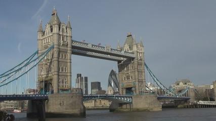 Timelapse of Tower Bridge, London