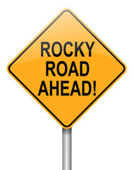 Rocky road ahead.