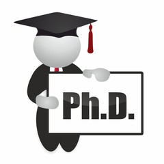 philosophiæ doctor - master degree - graduate