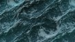 Storming ocean texture, top view in Full HD