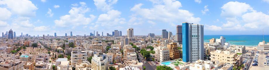 Tel-Aviv panoramic cityscape