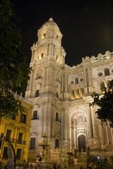 Cathedral Malaga. Andalucia. Spain.