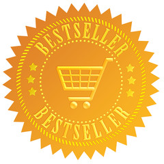 Bestseller golden icon