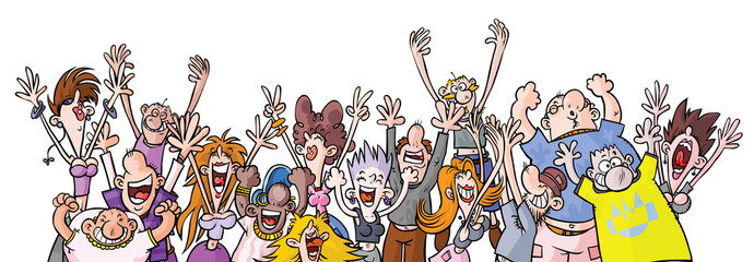 Cartoon Party People.