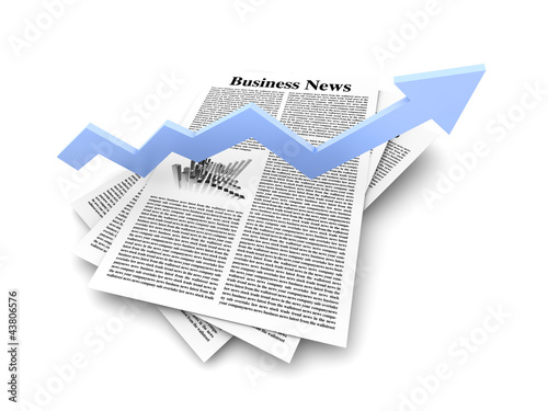 Business News - Aufwärtstrend