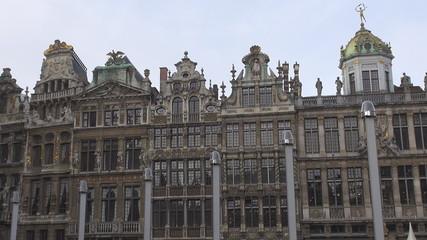 Guildhouses in Brussels, Belgium