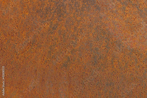 Very old rusty metal plate background
