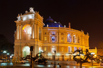 Odessa Opera and Ballet Theater, Ukraine. Built 1887
