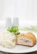 Cordon bleu chicken cutlet