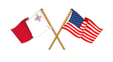 America and Malta alliance and friendship
