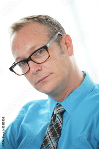 Stock image of a businessman