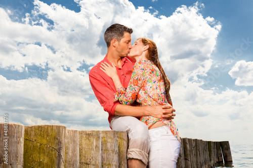 ein kuss am strand