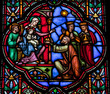 Epiphany - Stained Glass window - Three Kings