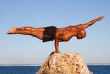 Fototapety balance strong man