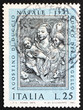 Postage stamp Italy 1973 Virgin And Child by Agostino di Duccio