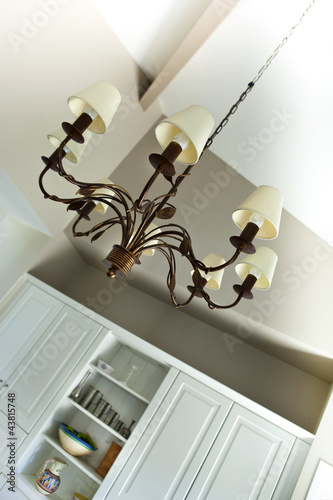 Maison int rieur d coration lustre luminaire salon for Decoration luminaire interieur