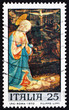 Postage stamp Italy 1970 Virgin and Child by Fra Filippo Lippi