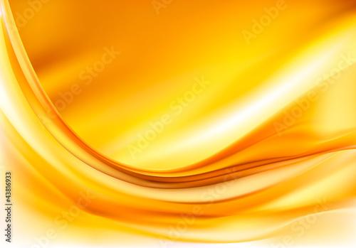 Złota elegancka abstrakcjonistyczna tło ilustracja