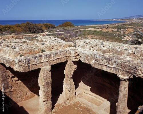 Tombs of the Kings, Paphos, Cyprus © Arena Photo UK
