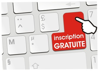 clavier inscription gratuite