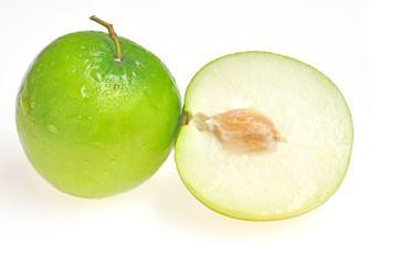 Jujube fruit isolated