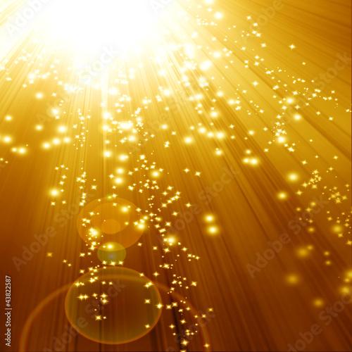 Złote musujące tło