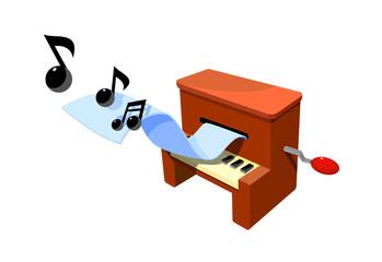 vector icon organ