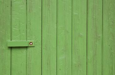 Holztor grün