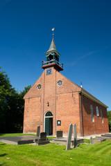 Dutch church in province Groningen