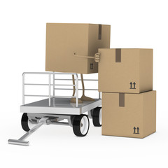 package figure offload trolley