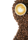 Fototapety Coffee beans background