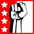 Fototapete Frustration - Solidarität - Arme / Beine
