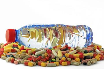 wasser mit tabletten