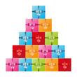 Geschenke Pyramide