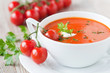 frische tomatensuppe - 43832756