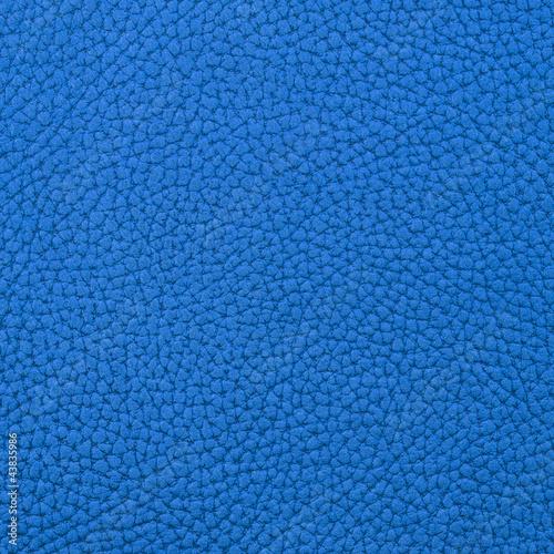 Deurstickers Leder Nubuk Leder blau Hindergrund